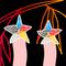 ★五芒星狐桔狐紋-60