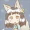 ★てぶくろがほしい雪ん狐