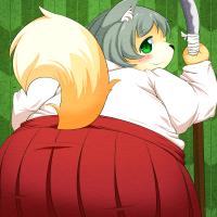 ★豊穣の巫狐よもぎ-200