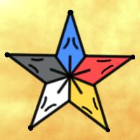 ★五芒星狐桔狐紋-200