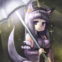 ★燈傘狐アメシスト-200
