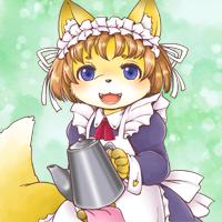 ★給仕の狐ルリ-200