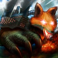 ★超弩級装狐エクサスプリーム・フォートレス・デルタ-200