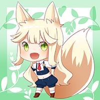 ★ハーブ狐カモミール-200
