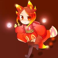 ★朧狐蛍火-200