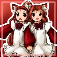 ★狐児院のエルザとフェリシア-200