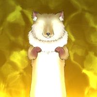 ★光り輝くスベラナガギツネ-200