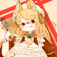★糸車の狐ムー-200